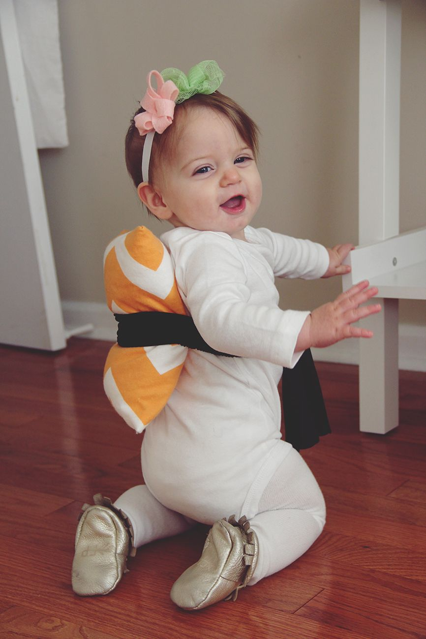 DIY Baby Sushi Halloween Costume Diy baby halloween