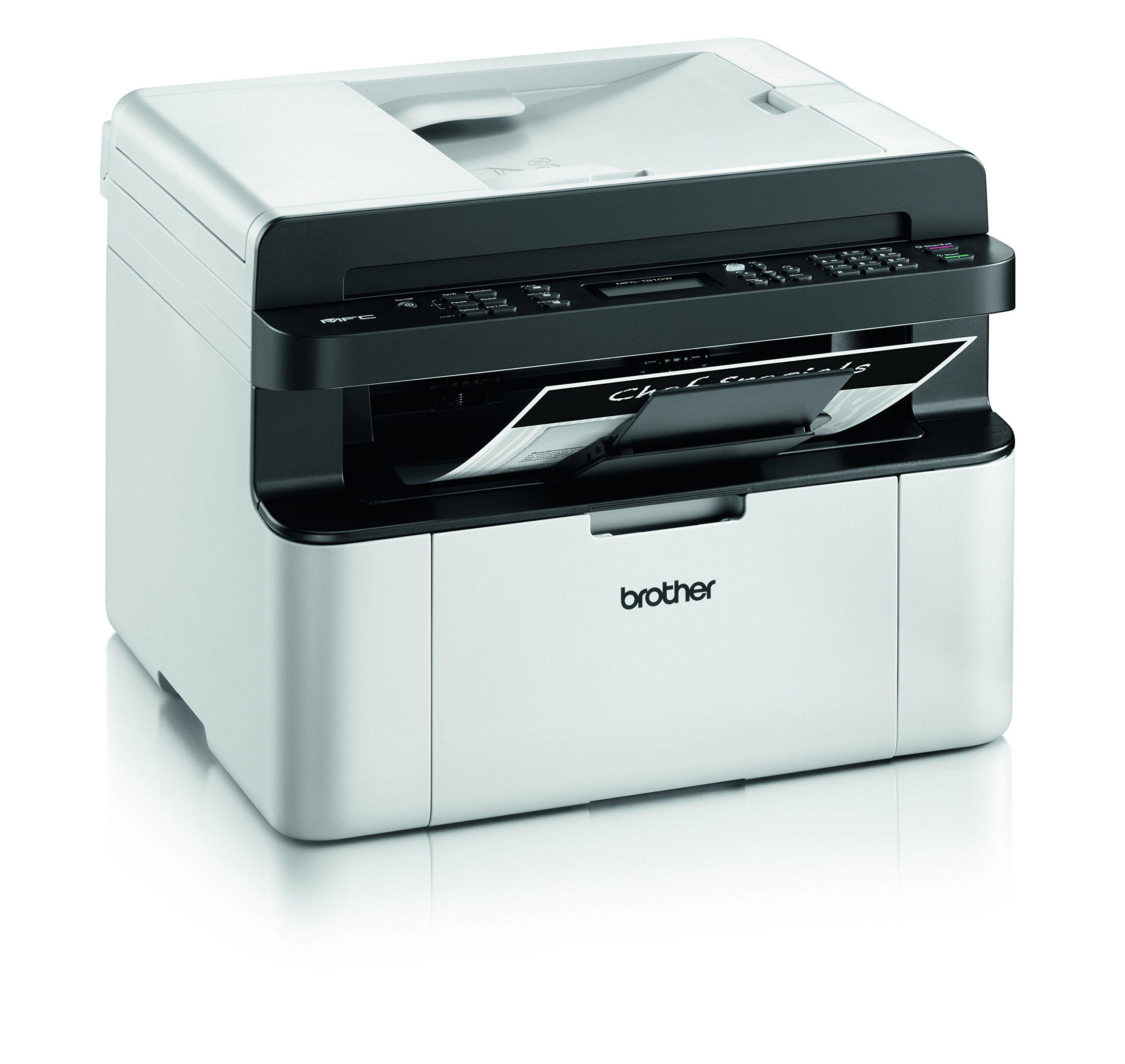 132 Brother Mfc1910w Impresora Laser Multifuncion 20 Ppm