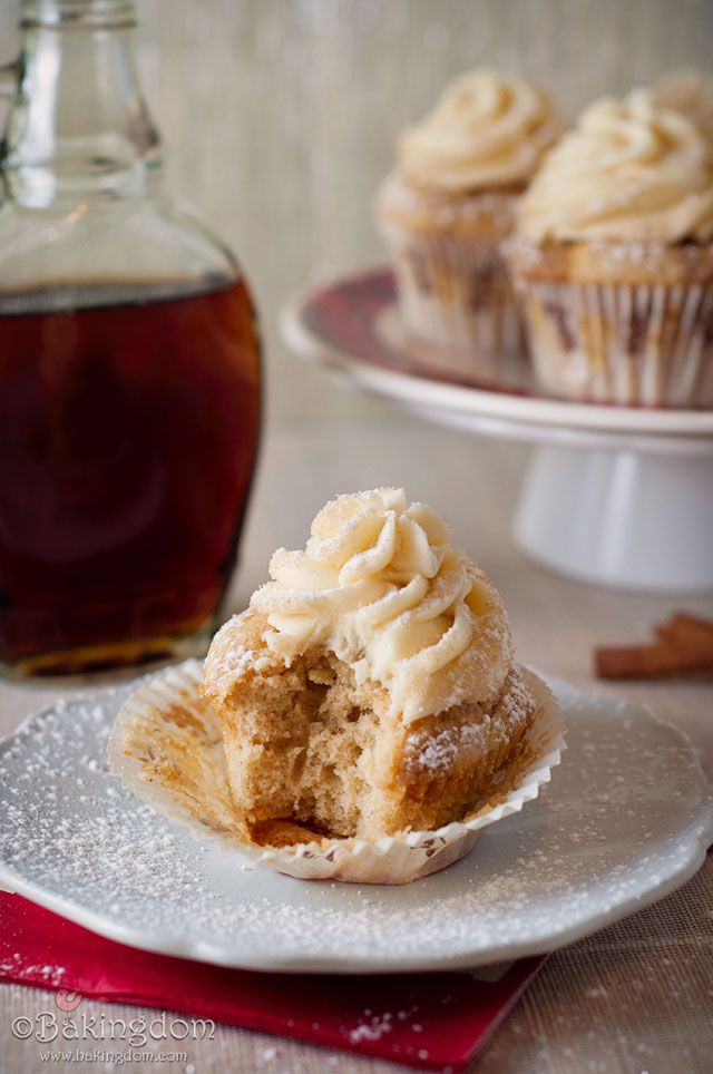 French Toast Cupcakes via @Darla