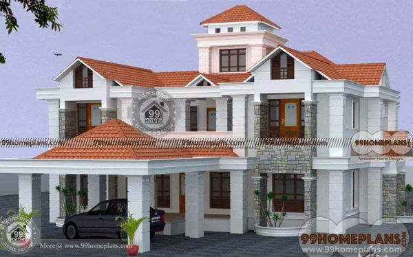 Luxury Bungalow House Plans Indian Home Design Collection 2