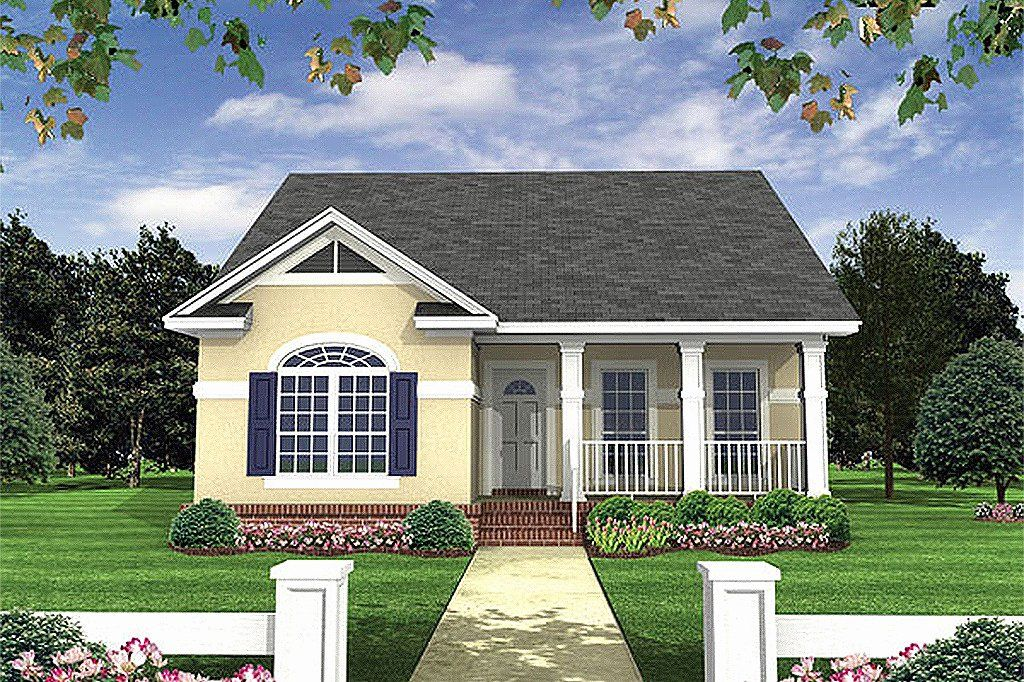 2 Bedroom Cottage House Plans Awesome Cottage Style House Plan 2 Beds 2 Baths 1100 Sq Ft Pl In 2020 Cottage Style House Plans Craftsman House Plans Cottage House Plans