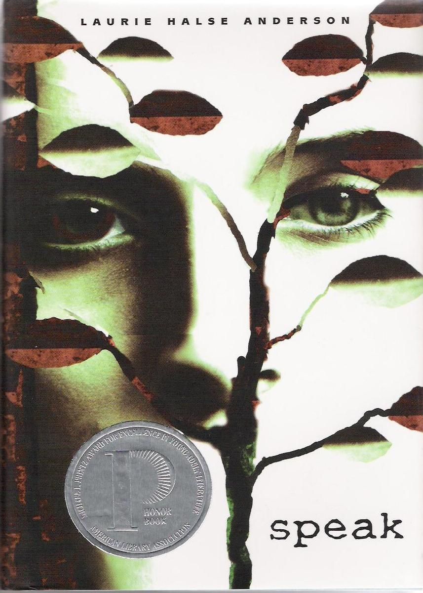 Another Pinner Commented: SPEAK. My english teacher read this book to us in High School. It took all my energy to not break down and cry infront of my class
