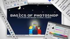 Learn the Basics of Photoshop: The Complete Guide  Want to learn how everything works in Photoshop? We'll help you make your photos better, draw vector graphics, and design a web site.