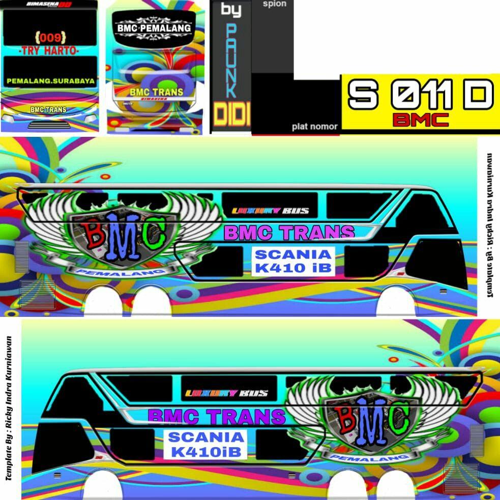 Bussid Konsep Mobil Mobil Modifikasi Stiker Mobil