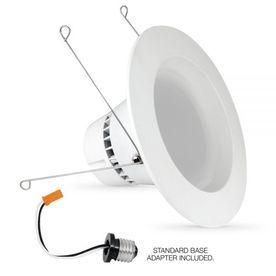 Feit Electric 100 Watt Equivalent White Led Recessed Retrofit Downlight Fits Housing Diameter 5 In Or 6 In 2 Recessed Lighting Kits Downlights Led
