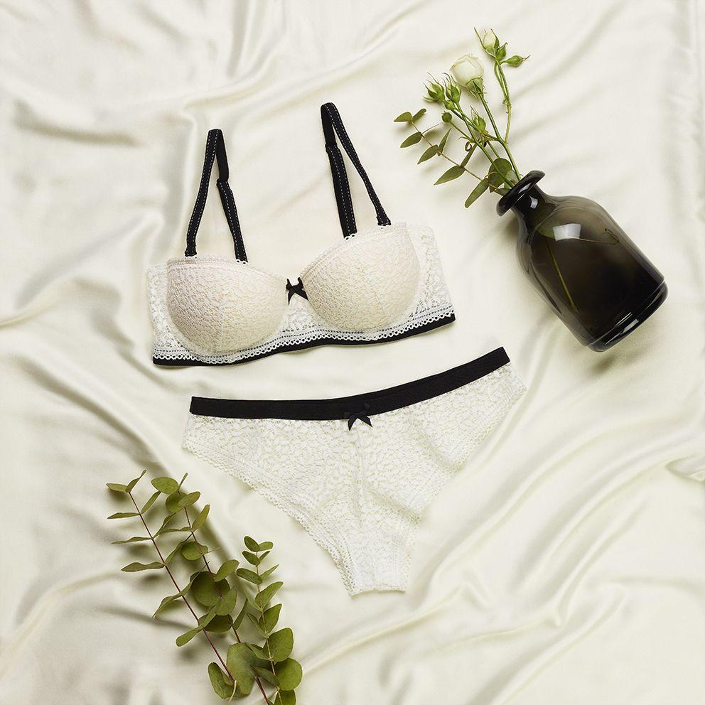 Beyaz Stardoll Balconette Sutyen Penti Moda Kadin Moda Trendler