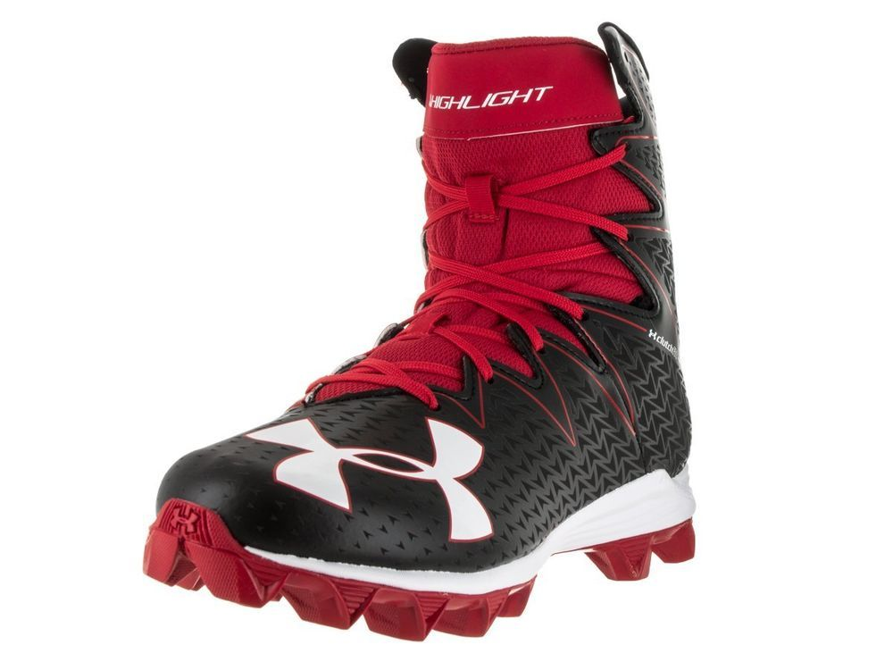 Under amour mens highlight rubber molded football cleats