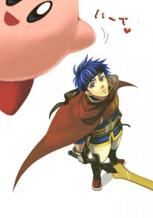 Kirby and Ike of Fire Emblem