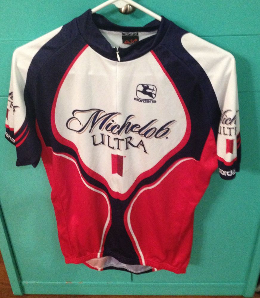 8ed4d0d33 Michelob Ultra Giordana Men s Cycling Jersey Size Large
