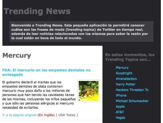 Trending News noticias en tiempo real - bocabit.com