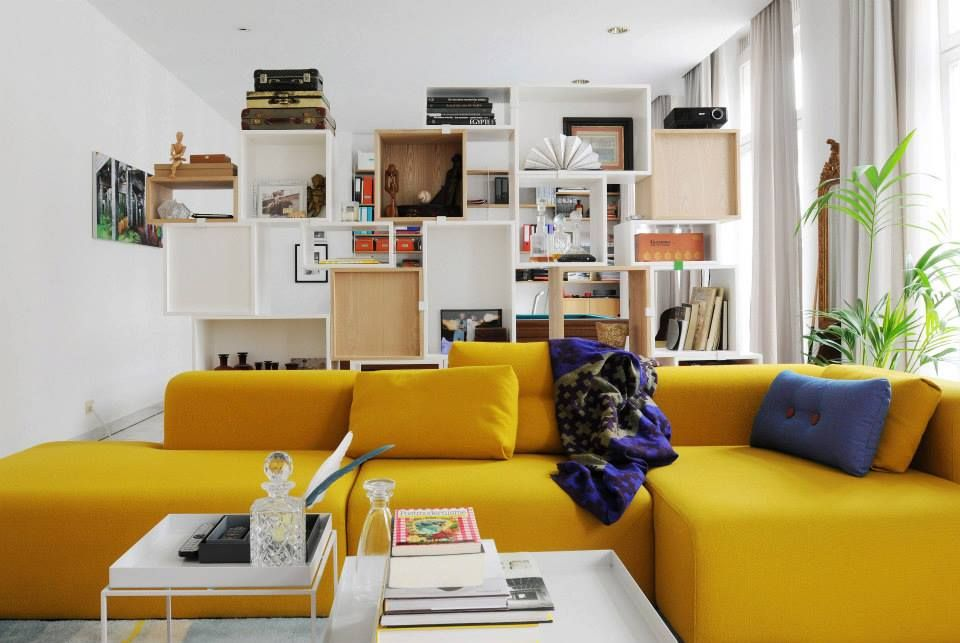 MAGS sofa van HAY Mooi, flexibel, kwalitatieve Kvadrat stoffen