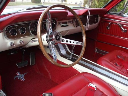 1965 Ford Mustang Pony Interior Red W Wood Grain Jpg 450 X 337 100 Ford Mustang Ford Mustang Convertible Mustang Convertible