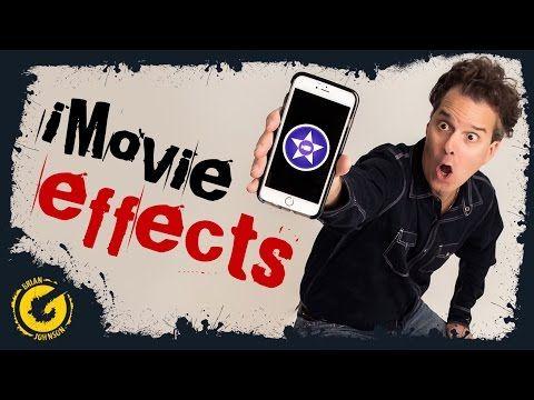 10 Imovie Special Effects Iphone Ipad Ios Imovie Tricks Hacks Youtube Ipad Ios Iphone Iphone Apps