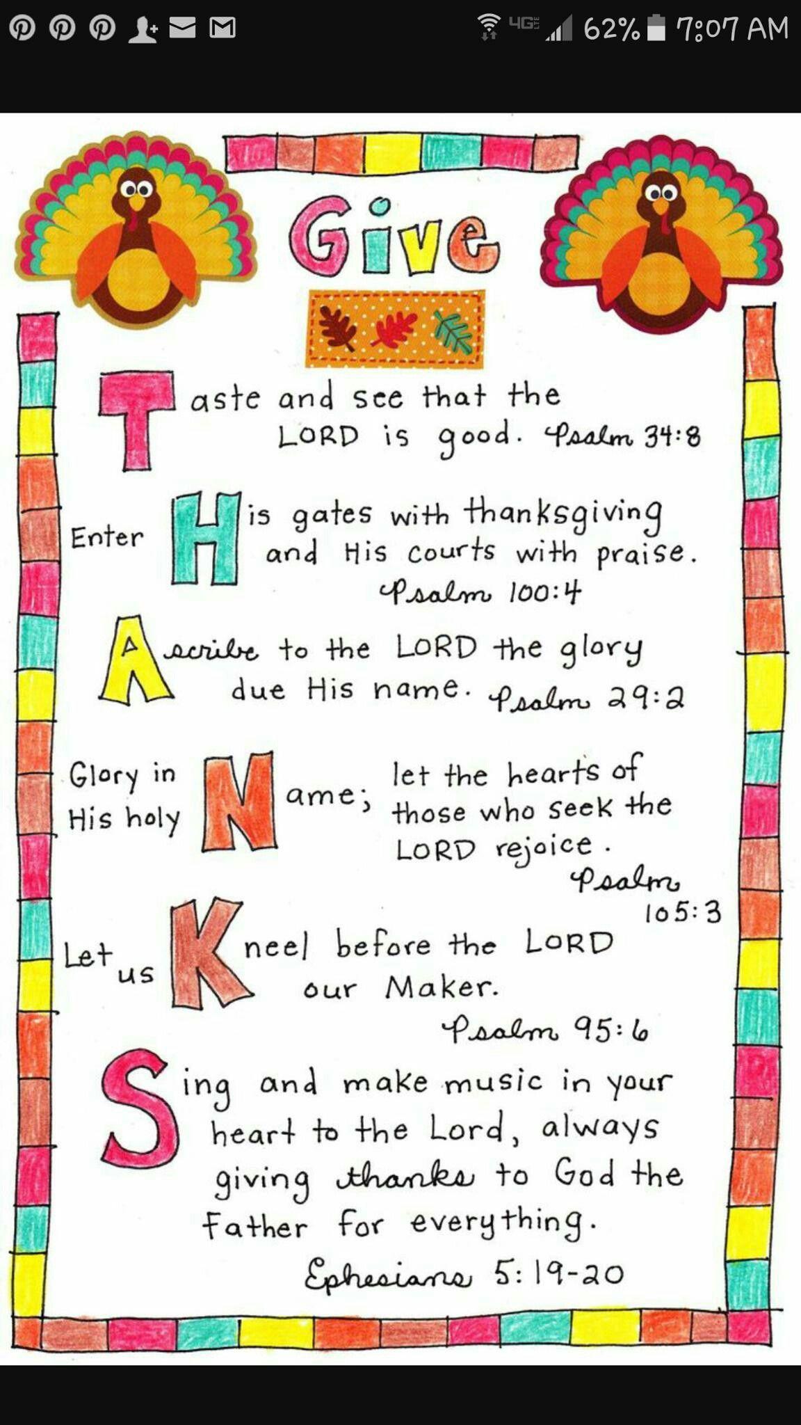 Idea By Joy White On Thanksgiving