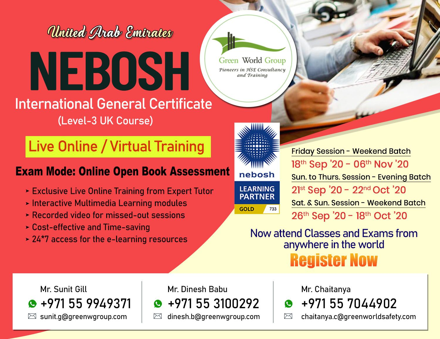 Is NEBOSH IGC a Best Health and Safety Course in UAE? in