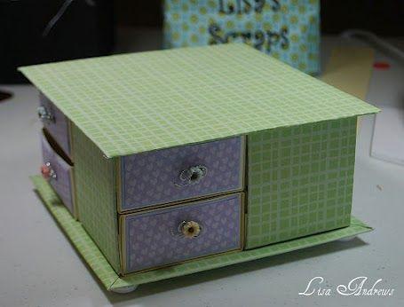 Scor-pal: 8 drawer box