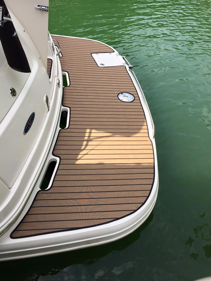 Snap In Carpet Installed On Customer S Boat Boat Stuff Boat Carpet