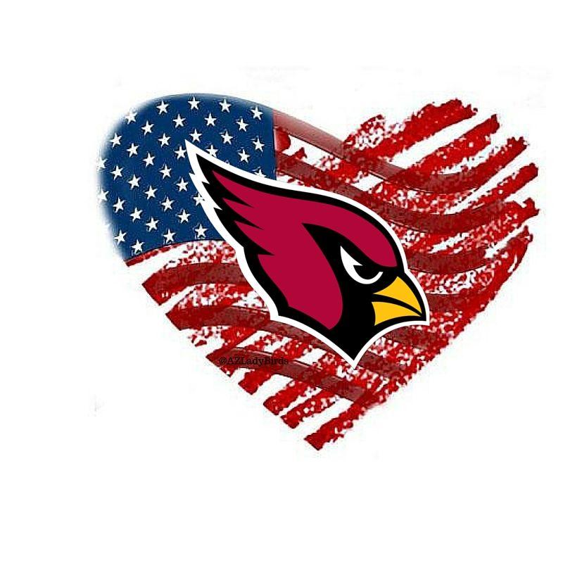 Arizona Cardinals 4th Of July 2016 Arizona Ladybirds Usa Azladybirds Arizona Cardinals Football Cardinals Nfl Louisville Cardinals Football
