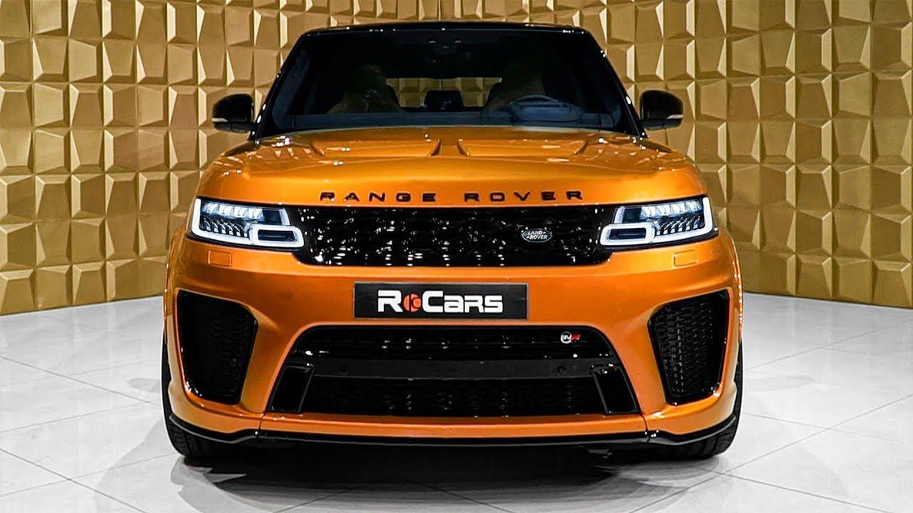2020 Range Rover Sport SVR V8 Supercharged SUV in Detail