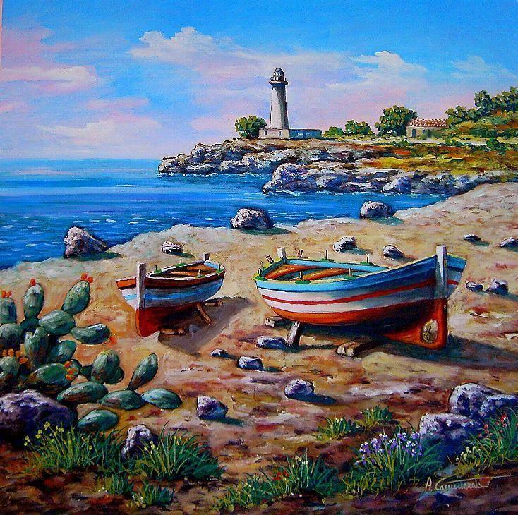 Antonino Cammarata~ Scicilian Fishing Boats~c.c.c~ Risultati ...
