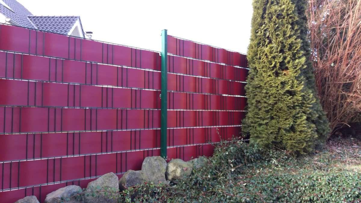 Sichtschutzstreifen Fur Zaune Premium Zaun