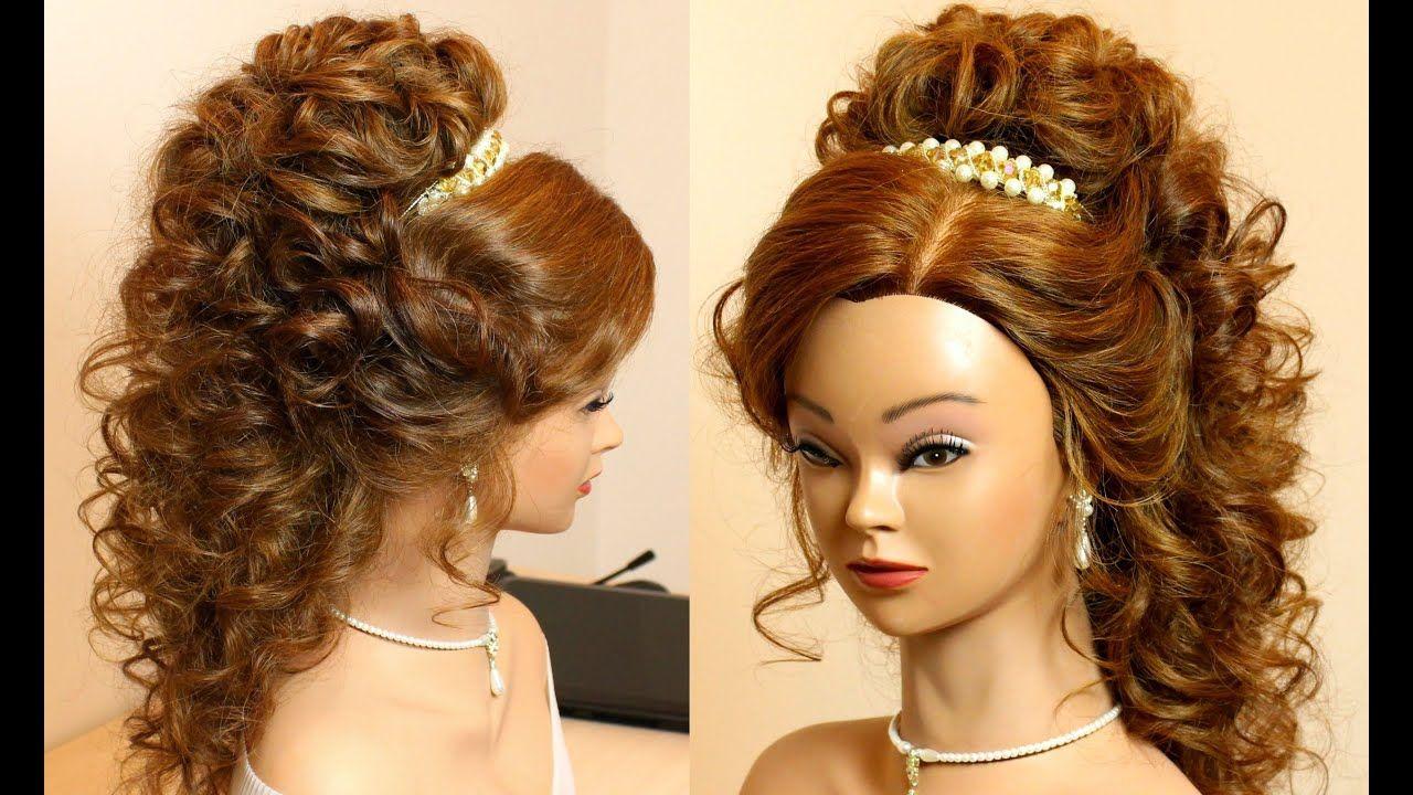 Schone Prom Curly Frisuren Frisur In 2020 Long Hair Styles Long Hair Tutorial Hair Styles
