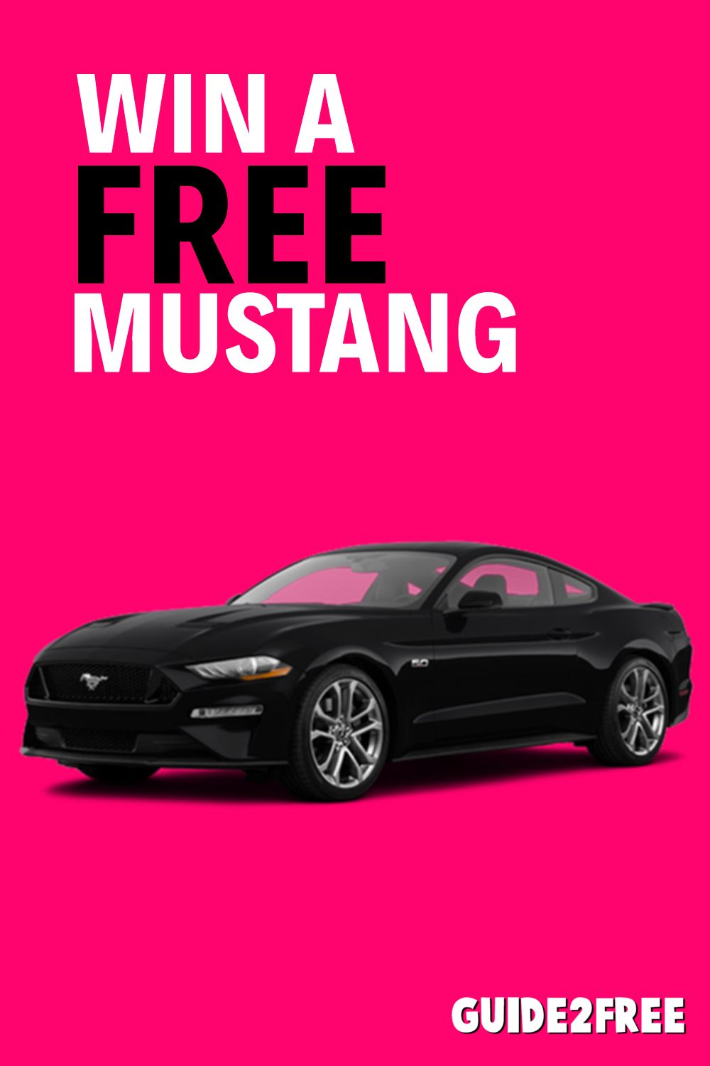 Enter to Win a Ford Mustang Free Samples Mustang, Ford
