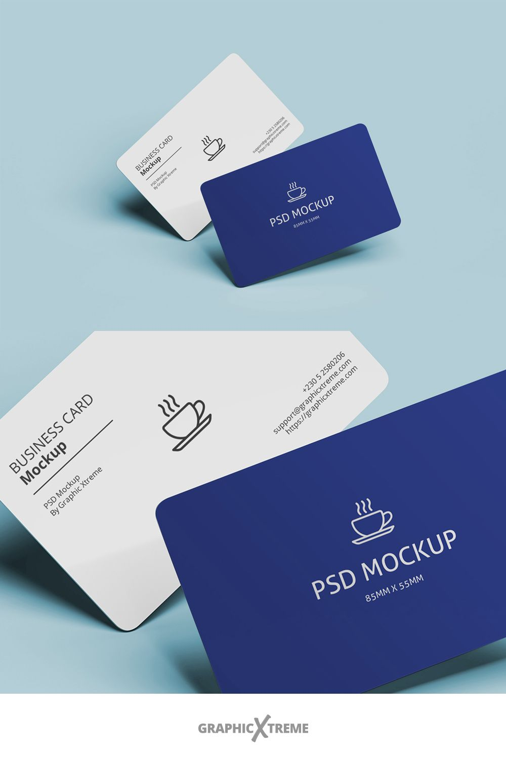 Rounded Business Card Mockup Business Card Mock Up Business Cards Mockup Psd Round Business Cards