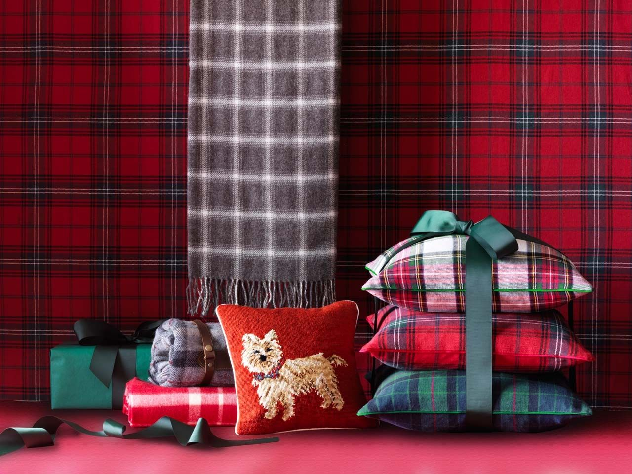 William Sonoma Chair Covers Expensive Gaming Wsh Tartan And Plaid Accessories Williamssonoma My