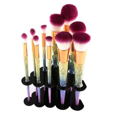 tree cluster makeup brush holder holder only unicorns