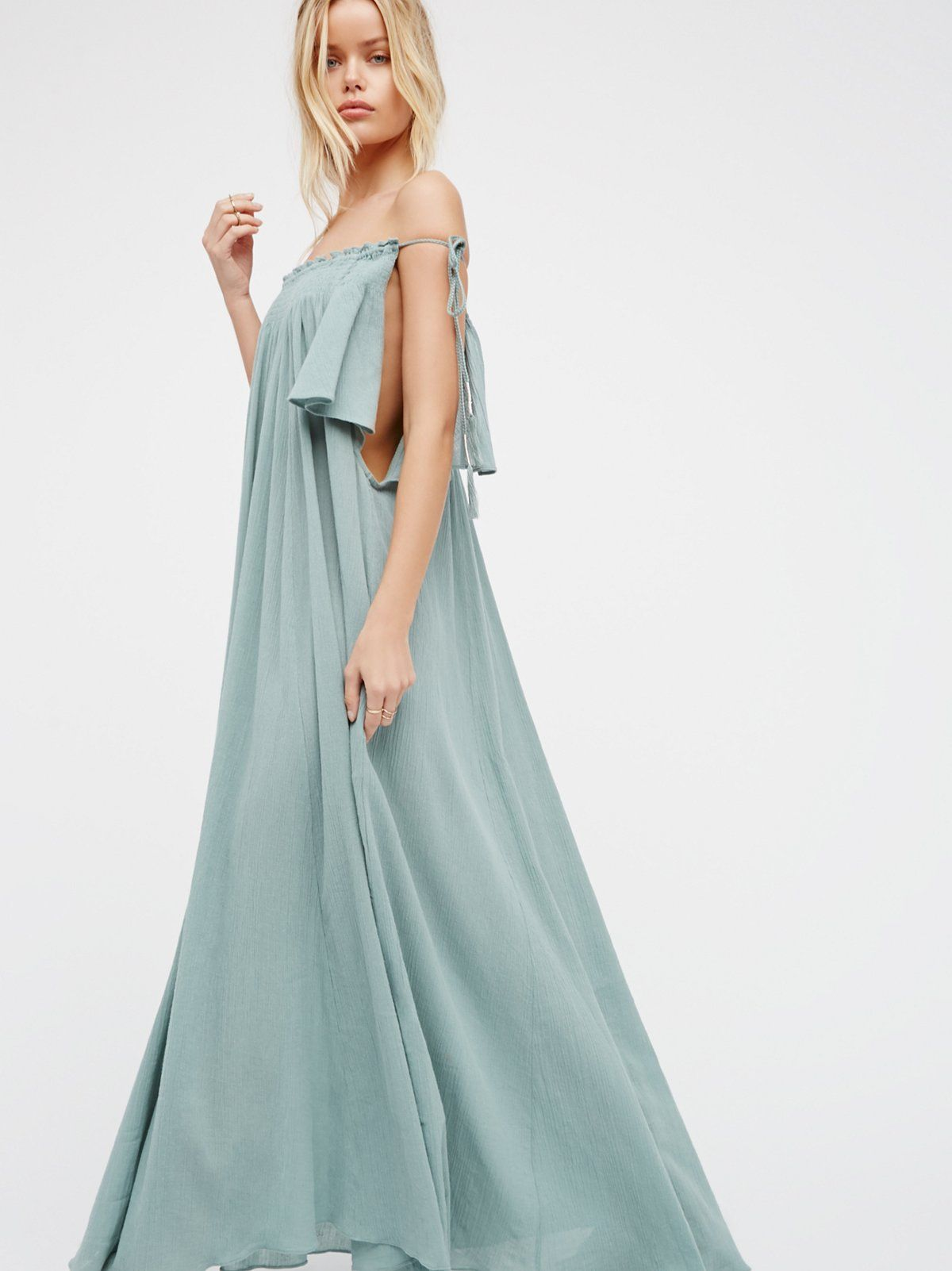 Natasha Maxi Dress | Side ties, Maxi dresses and Perfect fit