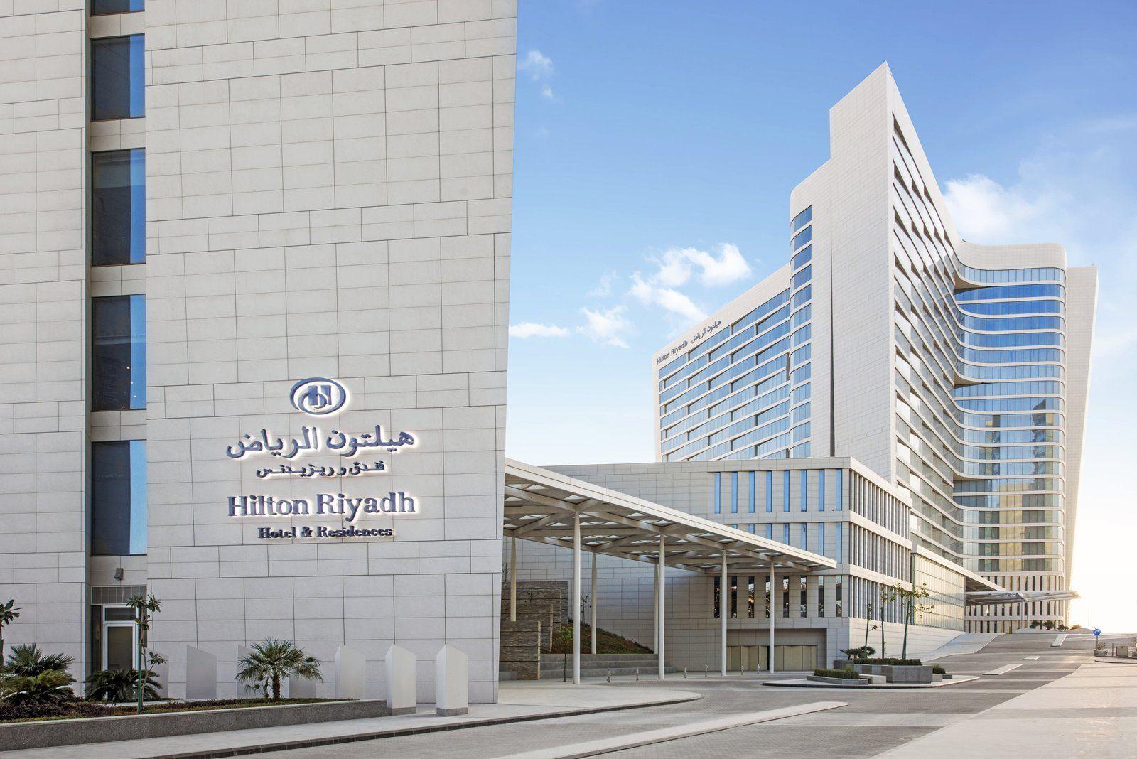 Hilton Riyadh Hotel Residences Hotel Hotel Facade Hilton