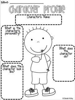Image result for example of character profile for kids | graphic.