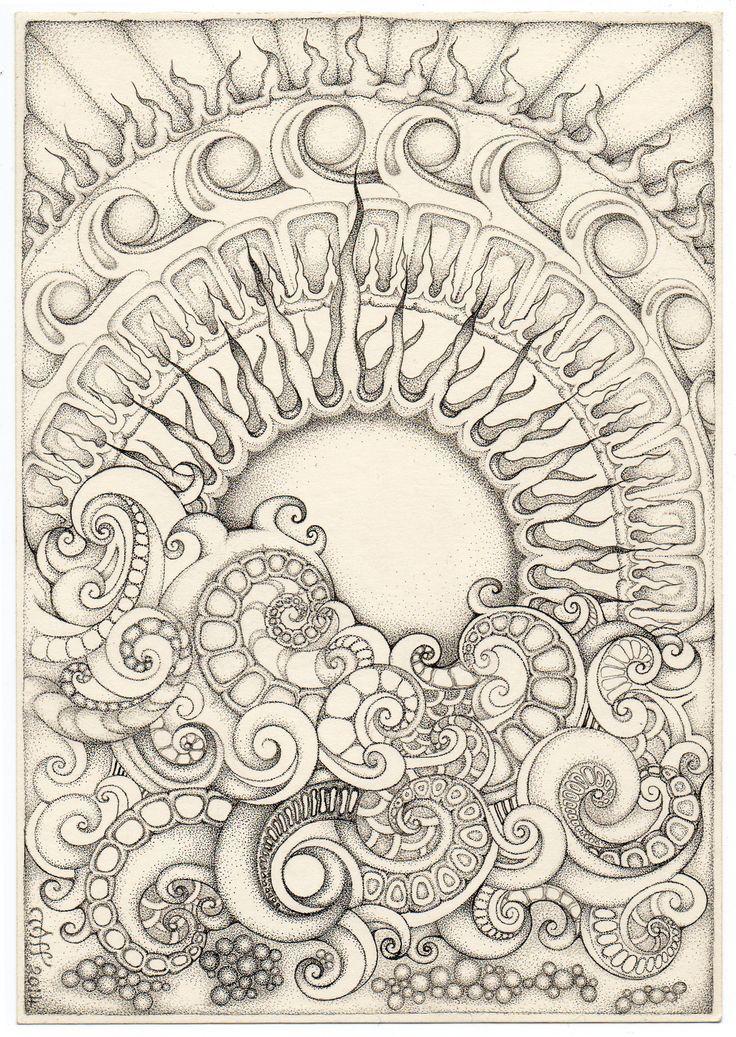 Sol ilustración   Armonía // dualidad -> mandalas   Pinterest   Sol ...