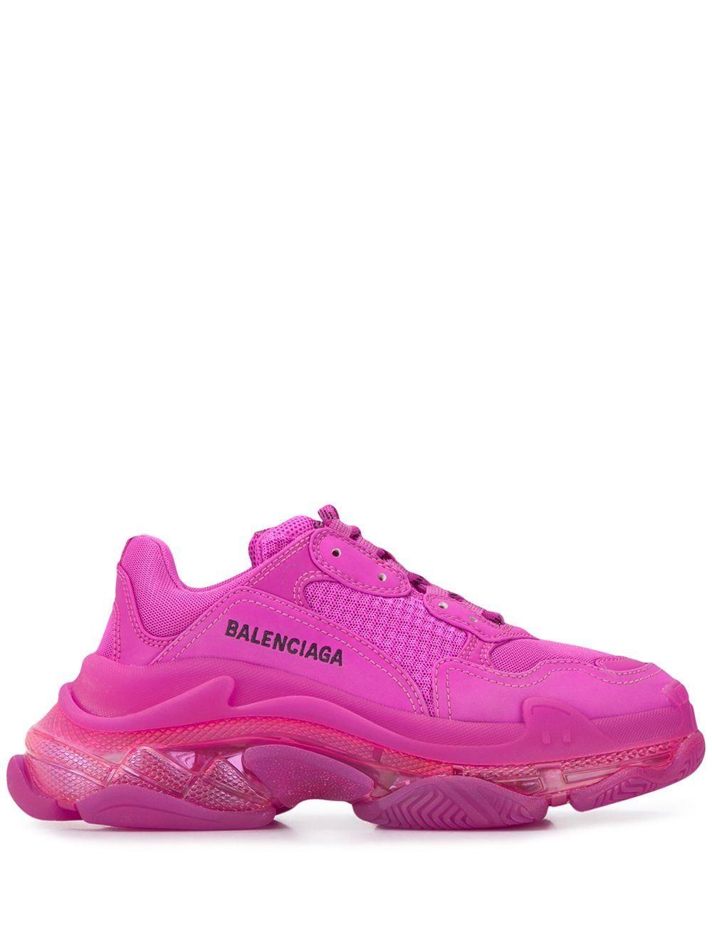 Triple S clear sole sneakers in 2020