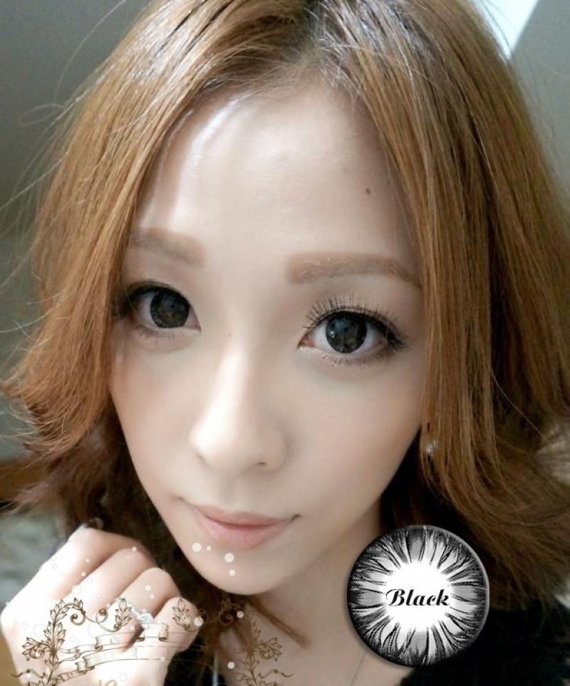 Big eyes yearly disposable color circle lenses pretty