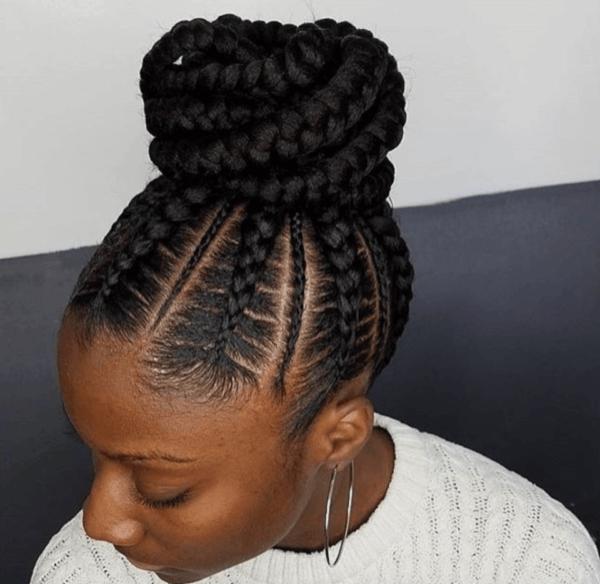 Kenyan Hair Styles Braids By Eva Nairobi 13 Latest Hairstyles In Kenya 2018 Trending Cool Braid Hairstyles Braided Hairstyles Updo Cornrow Hairstyles