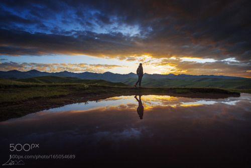 365travelquotes   Sunrise lake, Travel,  Lake sunset