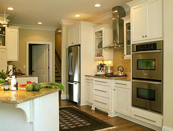 CliqStudios Painted Linen kitchen cabinets in the Rockford ...