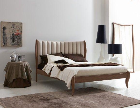 modern italian bedroom furniture. Plain Bedroom Lu0027Officina Nouveau Modern Italian Designer American Walnut Bed In Bedroom Furniture