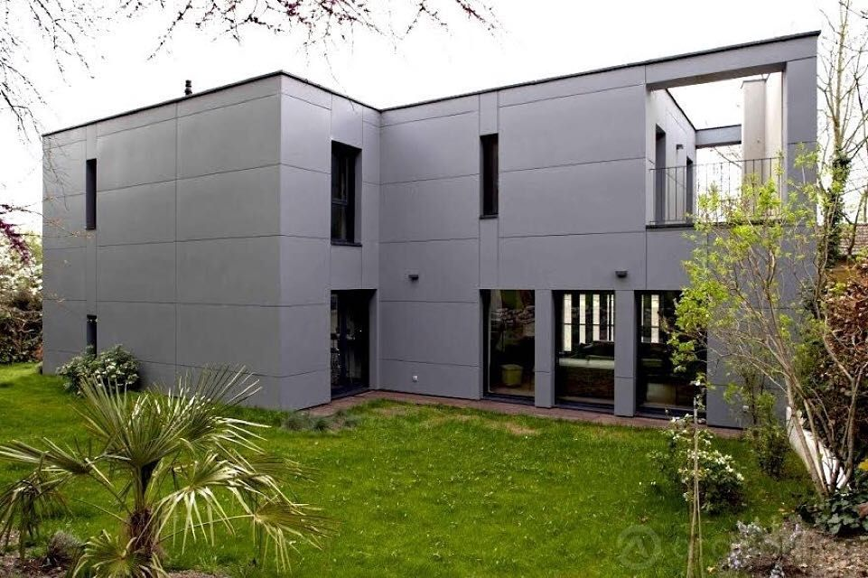 Concue Par L Architecte Raphael Novarina La Maison Nova Est Une Maison Contemporaine Avec De Multiples Espaces Es Maison Contemporaine Maison Architecte Maison