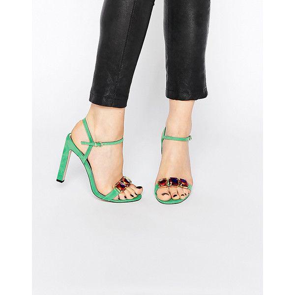 ASOS Collection Shoes Women ASOS HEARING Embellished Heeled Sandals