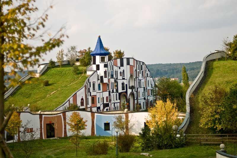 ultimative grune architektur bepflanzten wanden, herbst im hügelwiesenland in bad blumau. #badblumau #rognerbadblumau, Design ideen