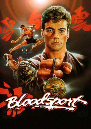 Bloodsport Bloodsport Movie Poster Bloodsport Van Damme