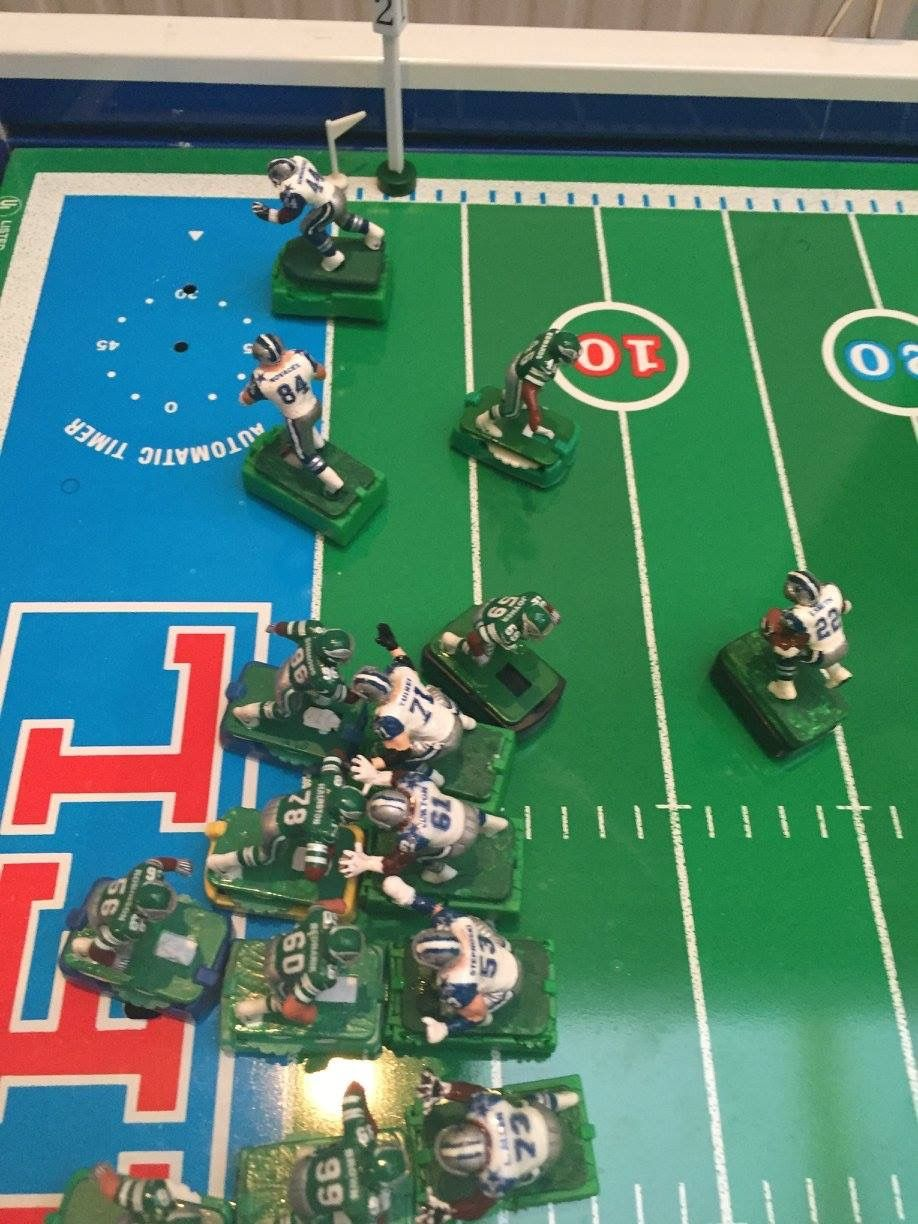 Image by evin moore on electric football then and now