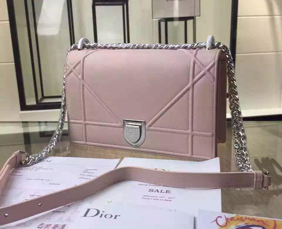 073ed2eb86 Dior Medium Diorama Lambskin Flap Bag in Pink. Dior Medium Diorama Flap Bag  100% Authentic 80% Off ...