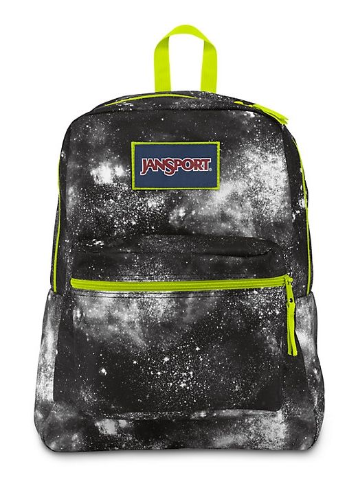 The all new JanSport Overexposed Backpack in Black Galaxy.  2550babc9d312