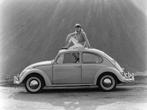 1965/6 VW press shot.