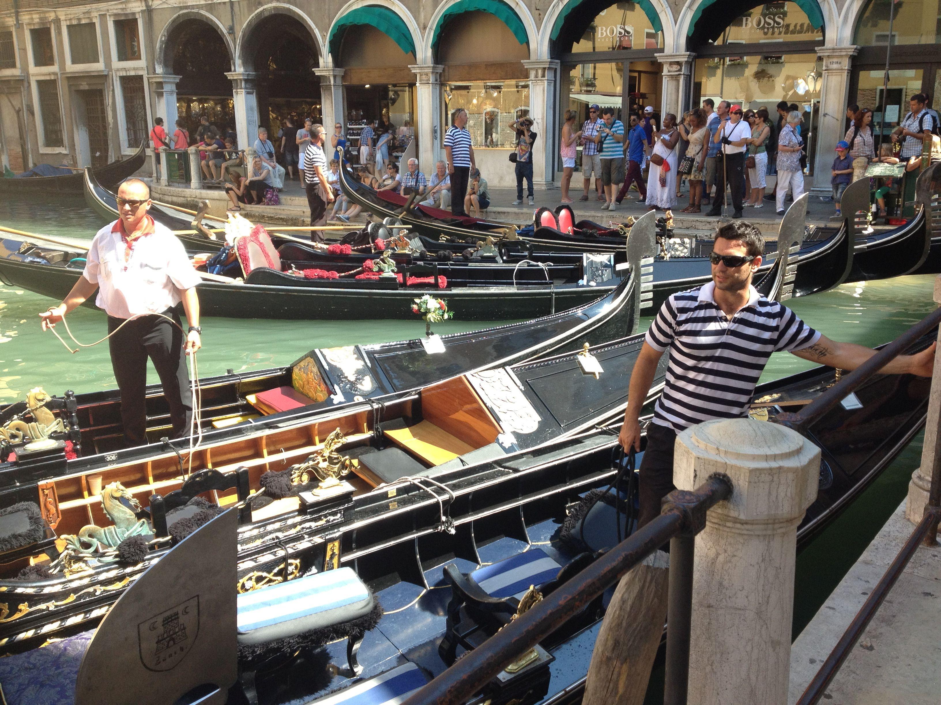 Стоянка Венецианского такси