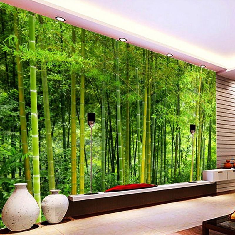 Latest High Quality Bamboo Wall Paper Living Room TV Sofa Backdrop ...
